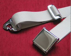 Example of Chrome Seat Belt Buckle