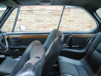 BMW 3.0 CSL Seat Belts