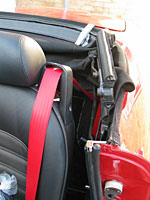 Passenger seat belt for 1968 Alfa Romeo spider