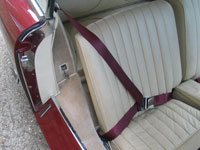 Driver Seat Belt in Aston Martin DB 2.4