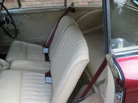 Aston Martin DB 2.4 Seat Belts