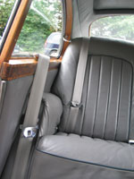 Bentley S1 Continental Fastback Front and Rear Seat Belts
