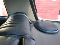 Citroen DS 21 Seat Belt in Parcel Shelf