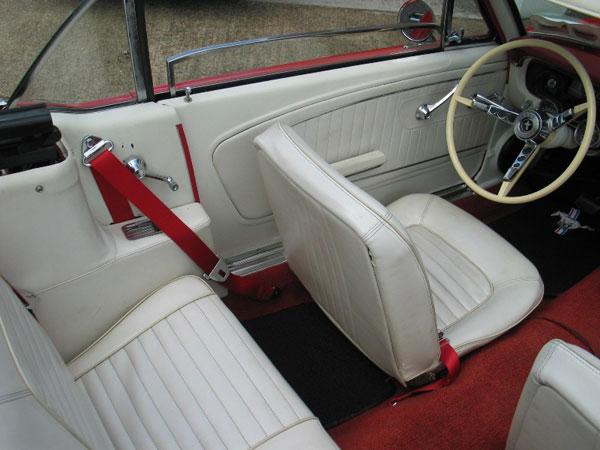 1989 Mustang Convertible Seat Belts