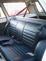 Ford Cortina Seat Belts
