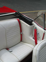 Ford Mustang Convertible Front and Rear Seat Belts