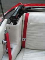 Ford Mustang Convertible Seat Belts