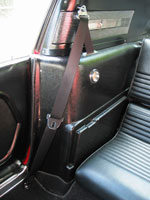 Ford Mustang Fastback 1967 Front Seat Belt