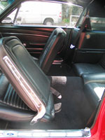 Ford Mustang Fastback 1967 Seat Belt