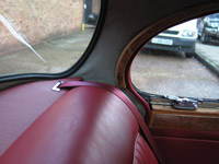 MKII Jaguar Rear Seat Belt