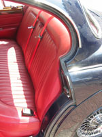 Jaguar MKII Rear Seat Belts