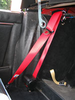 Jaguar XK150 S Red Seat Belt