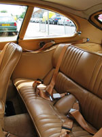 Jaguar E-Type 2+2 Front and Rear Seat Belts