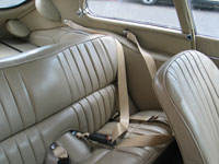 Jaguar E-Type 2+2 Seat Belts