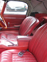 Jaguar E Type Convertible Seat Belts