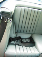 Mercedes SL (R107) Seat Belt