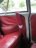 Morris Minor Convertible Front Seat Belt