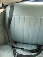 Morris Minor Convertible Rear Seat Belt