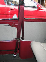 Morris Minor Mini 1960 Front Seat Belt