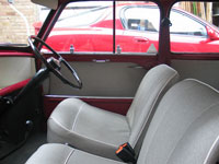 Morris Minor Mini 1960 Seat Belt Receiver