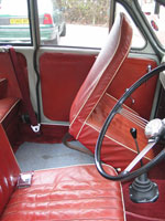Morris Minor Seat Belt and Buckle