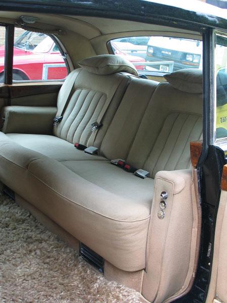 Rolls Royce Phantom Rear Seat Belts