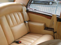 Rolls Royce Corniche Coupe Front and Rear Seat Belts