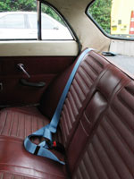 Volvo 121 Saloon 1965 Rear Seat Belt