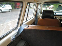 Volvo Amazon 122S Estate Front and Rear Seat Belts