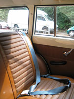 Volvo Amazon 122S Estate Rear Seat Belt