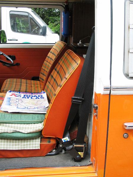 Vw T Campervan Front Seat Belt