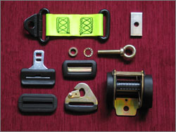 Selection of Seat Belt Components