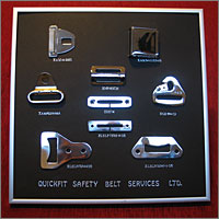 Stainless Steel Seat Belt Components