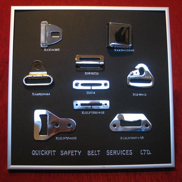Seat Belt Webbing Colours